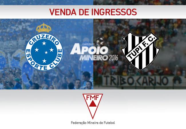 Informativo para Cruzeiro x Tupi