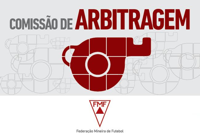 Escala de árbitros - Campeonato Apoio Mineiro - 3ª rodada