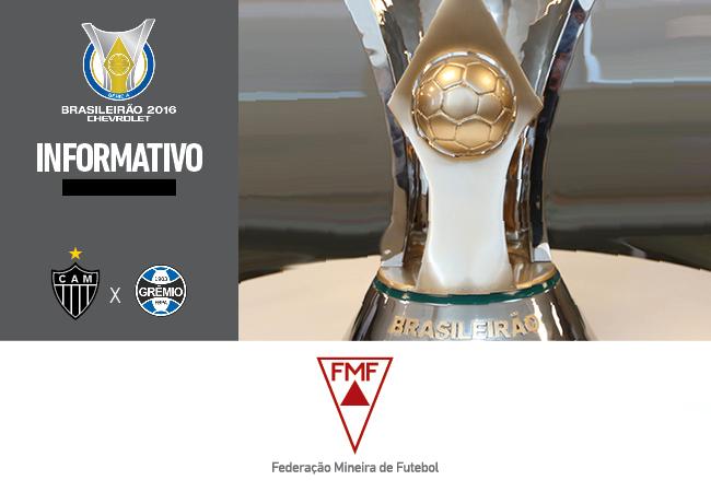 Serviços para Atlético x Grêmio