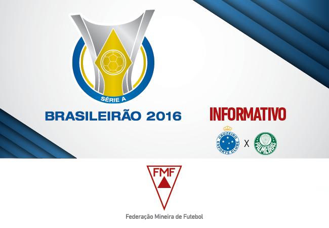 Serviços para Cruzeiro x Palmeiras