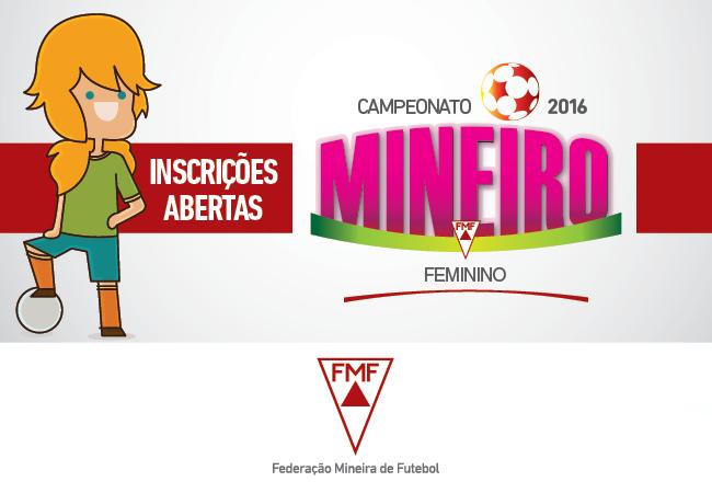 Edital de participação para Mineiro Feminino 2016