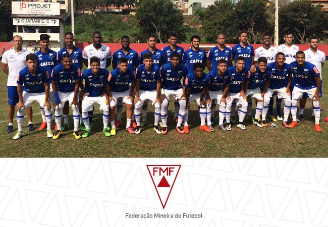 Cruzeiro garante título dos estaduais Sub-15 e Sub-20