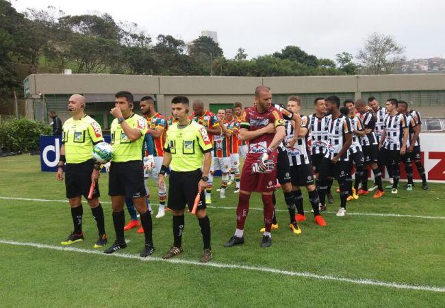 Tudo igual em Juiz de Fora: Tupi 1x1 Sampaio Correa