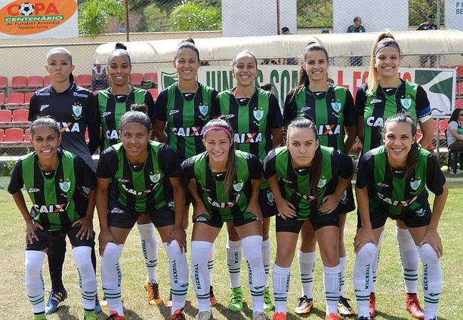 América é campeão do Mineiro Feminino