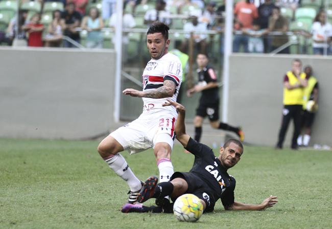 Atlético não segura São Paulo no Independência