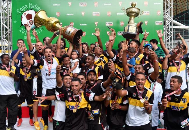Sarzedo conquista título inédito na Copa Itatiaia