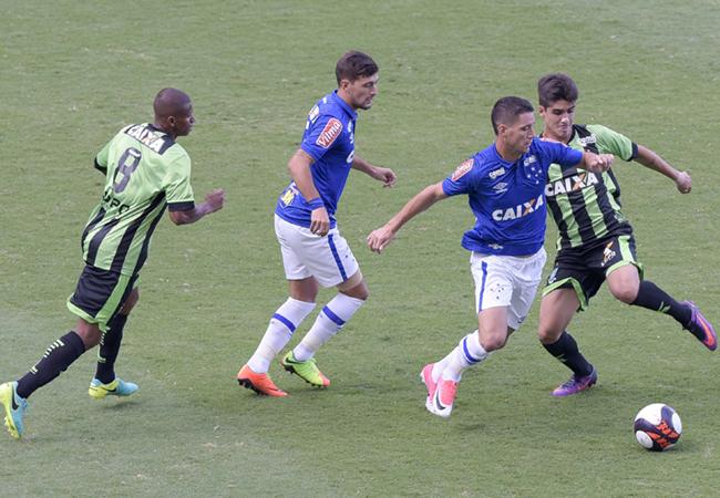 América e Cruzeiro empatam no primeiro jogo da semifinal