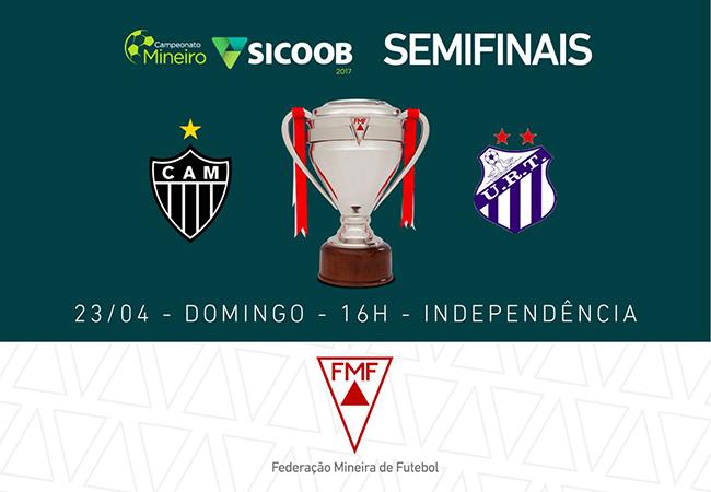 Venda de ingressos e serviços para Atlético x URT