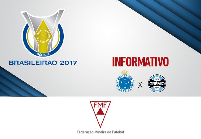 Serviços para Cruzeiro x Grêmio