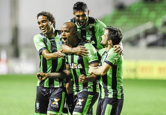 América vence Figueira e assume liderança da Série B
