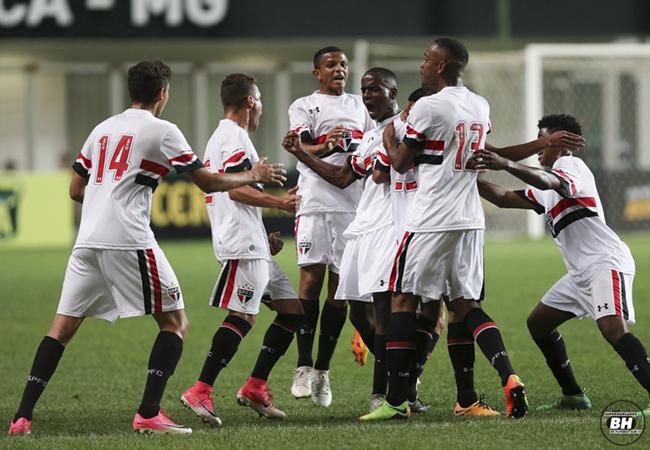 São Paulo vence Atlético e decide Taça BH novamente