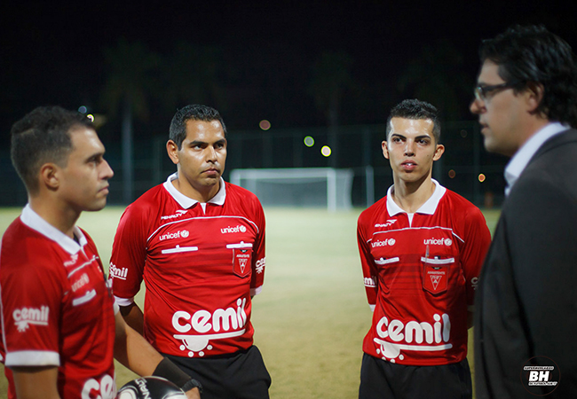 Taça BH revela árbitros e assistentes