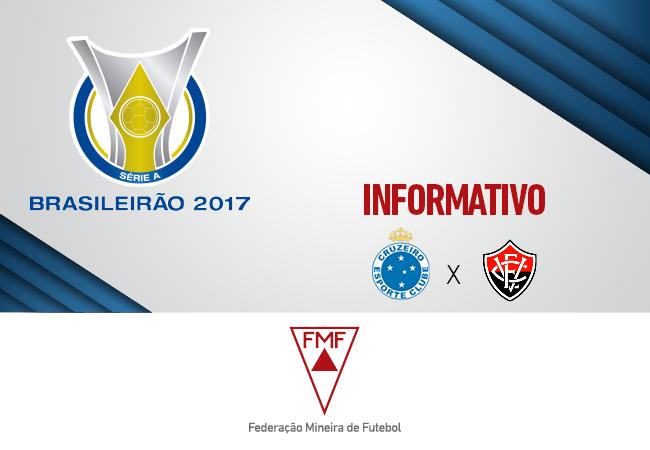 Serviços para Cruzeiro x Vitória