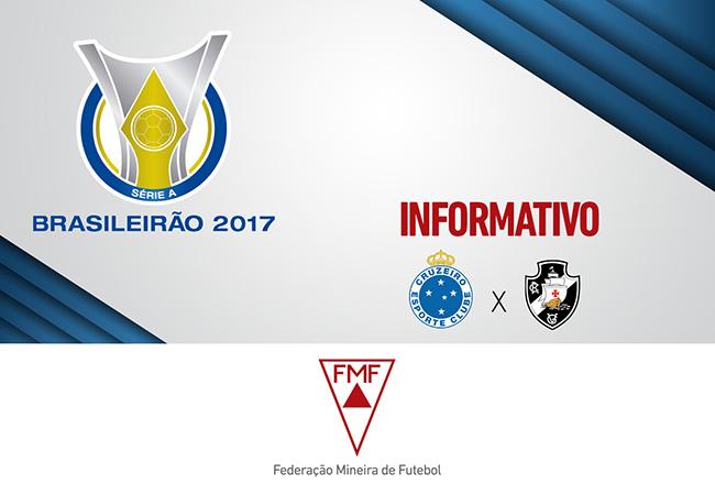 Serviços para Cruzeiro x Vasco
