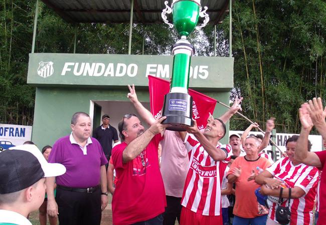 São Vicente é campeão da Liga Andrelandense em 2017!