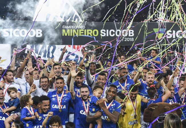 Cruzeiro é o Campeão Mineiro de 2018!