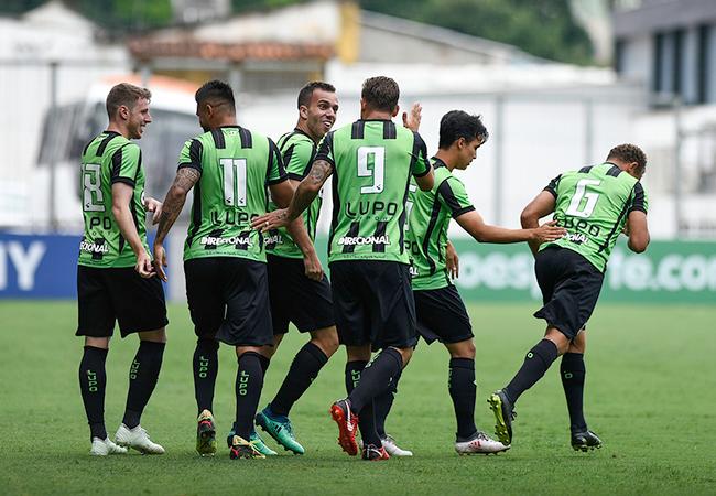 América vence na volta à Série A do Brasileirão