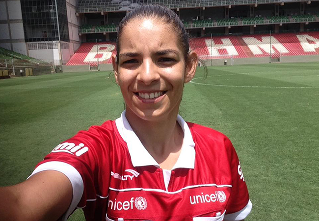 Aos 19 anos, Francielly estreia na elite do Brasileiro Feminino