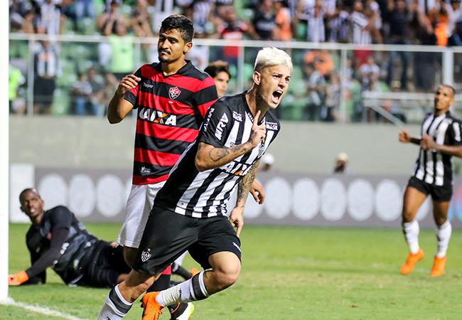 Atlético supera Vitória no Independência