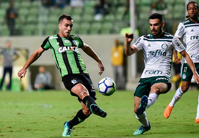 América luta, mas não evita revés contra Palmeiras