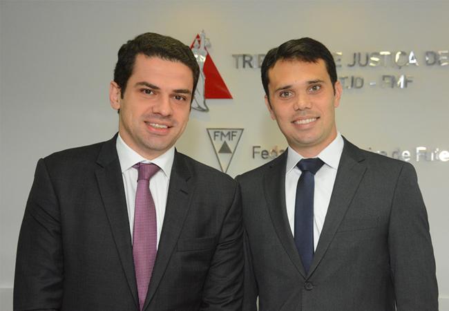 Adriano Aro assume presidência da FMF