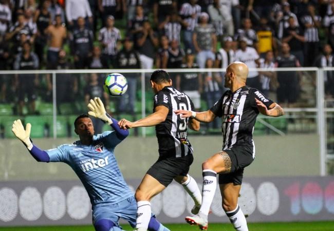 Atlético e Cruzeiro se mantém em suas classificações