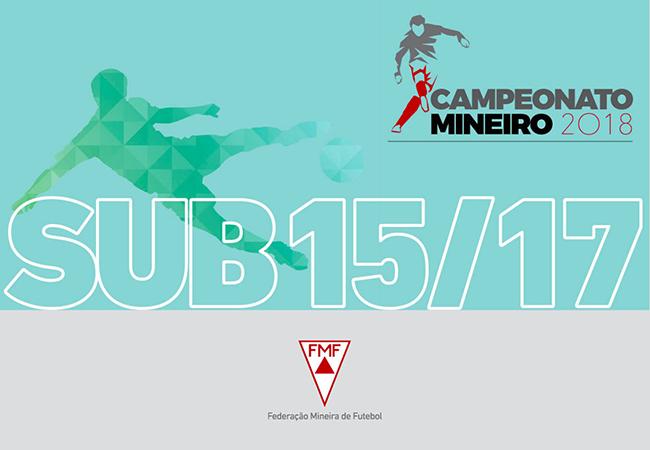 É campeão! - Cruzeiro no sub-15, Galo no sub-17