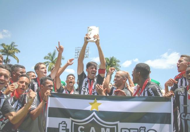 Atlético é tri no Mineiro Sub-17