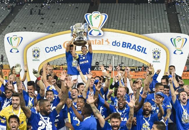 A Copa do Brasil é azul