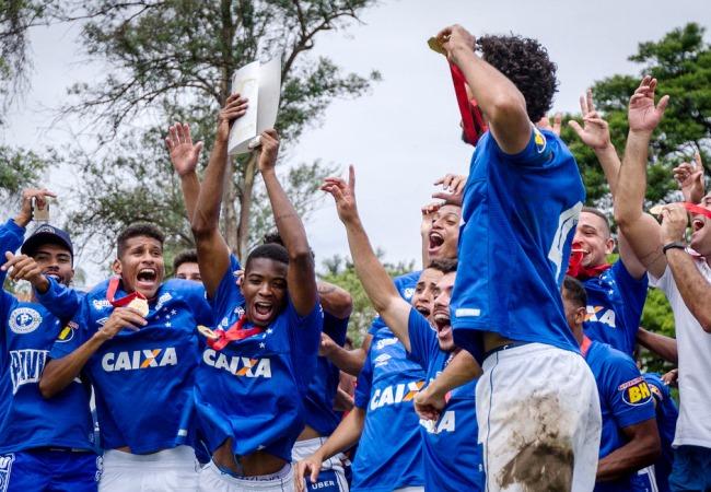 Cruzeiro é campeão do Mineiro sub-20