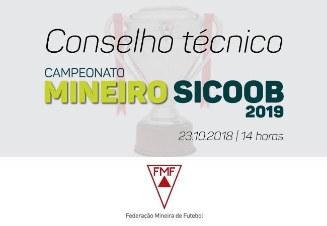 Arbitral dá pontapé inicial no Mineiro Sicoob 2019
