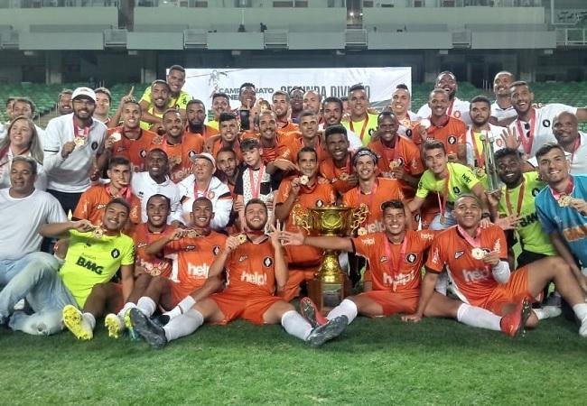 Coimbra é campeão da Segunda Divisão