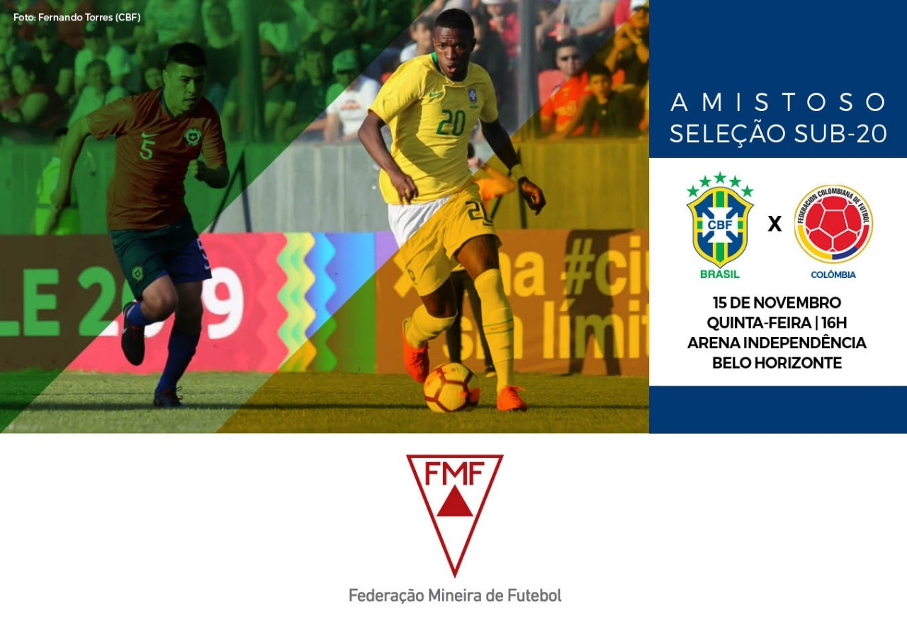 Venda de ingressos para Brasil x Colômbia