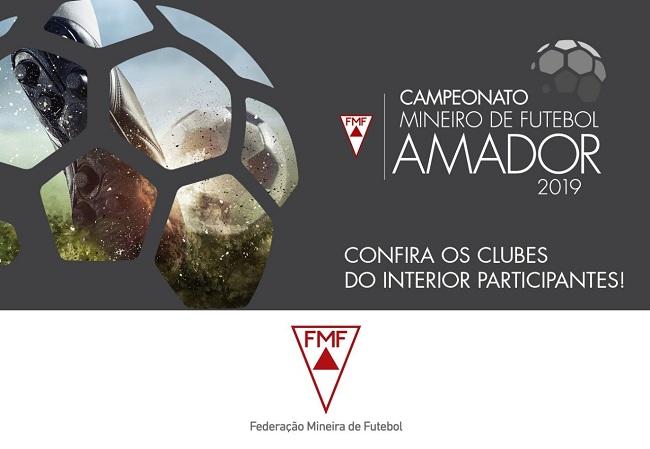 Ligas Participantes do Campeonato Mineiro Amador 2019