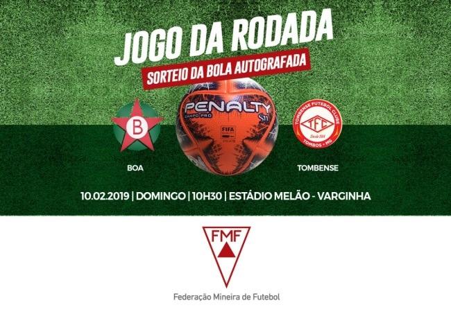 JOGO DA RODADA - Boa x Tombense