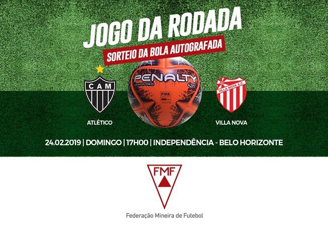 JOGO DA RODADA - Atlético x Villa Nova