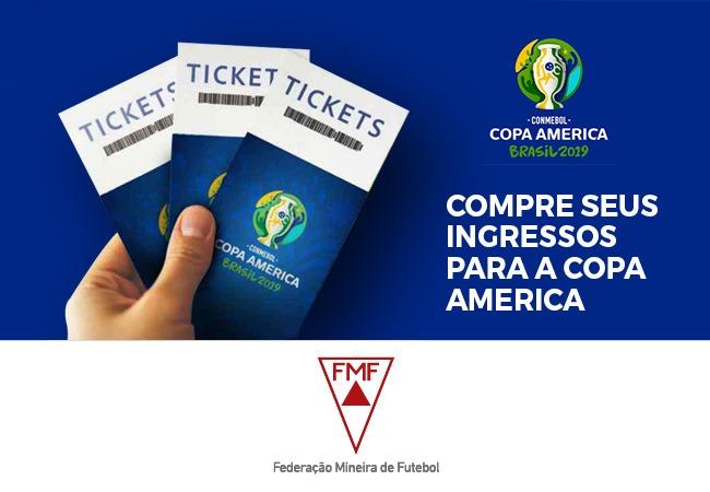 Garanta seu ingresso para a Copa América!