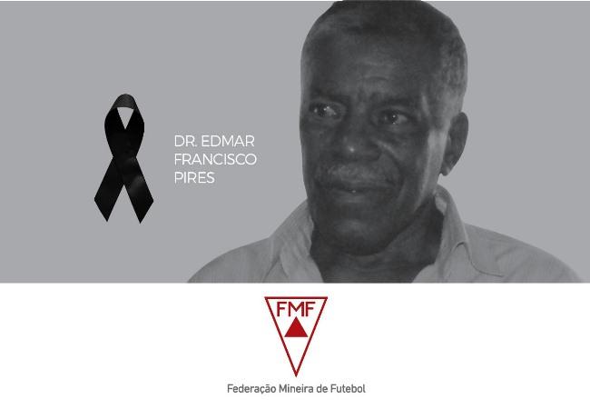"""Nota de falecimento: Dr. Edmar Francisco Pires """"Nem"""""""