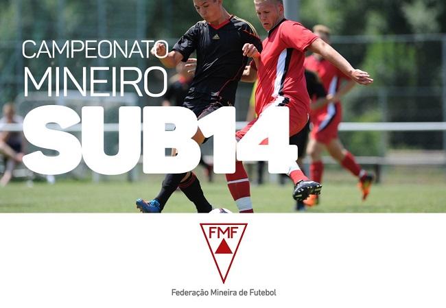 Vai começar o Campeonato Mineiro sub-14