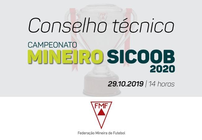 Conselho Técnico Campeonato Mineiro Sicoob 2020