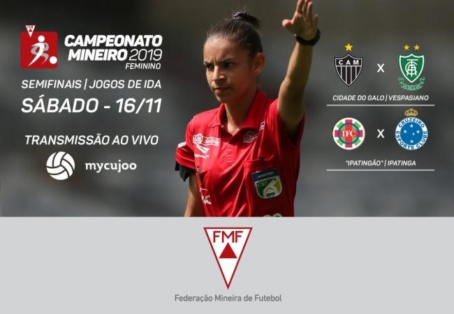 Mineiro Feminino chega às semifinais