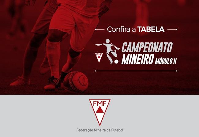 <h3>FMF divulga os jogos do Módulo II 2020</h3><div><br>O Campeonato Mineiro do Módulo II 2020 teve tabela divulgada pela Federação Mineira de Futebol.</div><div><br>Com a presença de Athletic, Betim Futebol, CAP Uberlândia, Democrata-GV, Democrat...
