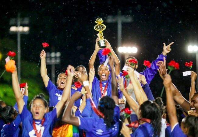 Cruzeiro Campeão Mineiro Feminino 2019