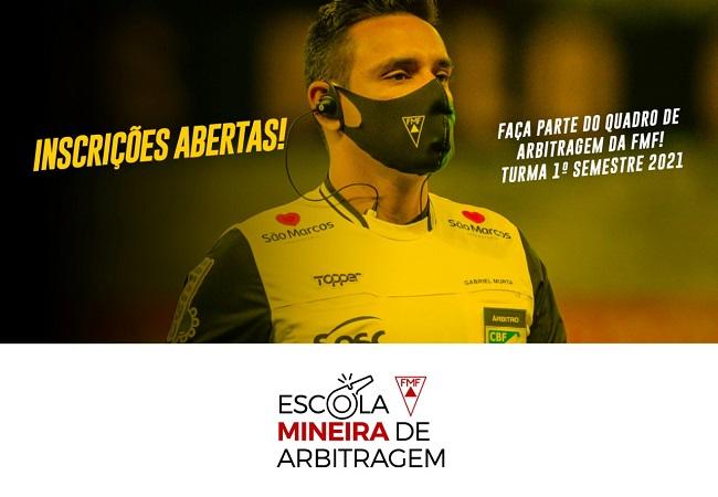 FAÇA PARTE DO QUADRO DE ARBITRAGEM FMF