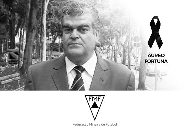 Nota de falecimento - Áureo Fortuna - ex-presidente do Tupi FC