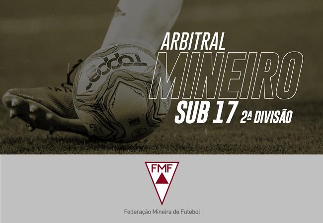 A segunda divisão do Campeonato Mineiro sub-17 2021 está definida!