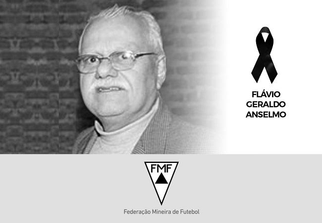 Nota de falecimento - Flavio Anselmo
